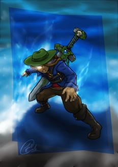 Rob Sardan, the Sword Holder